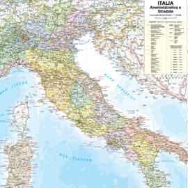 CARTINA GEOGRAFICA ITALIA FISICA FORMATO A4 - Wroc?awski Informator Interneto...